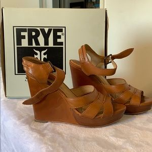 Gently worn Frye shoes.